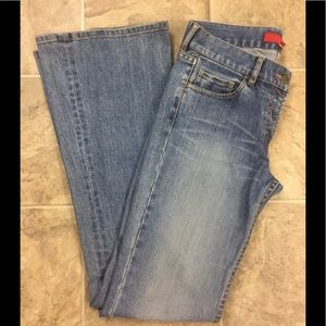 Fcuk French Connection Denim Light Flare Jeans A43